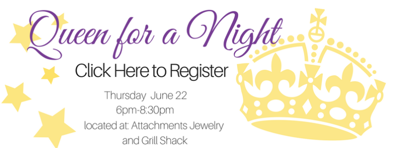 Queen for a Night registration button